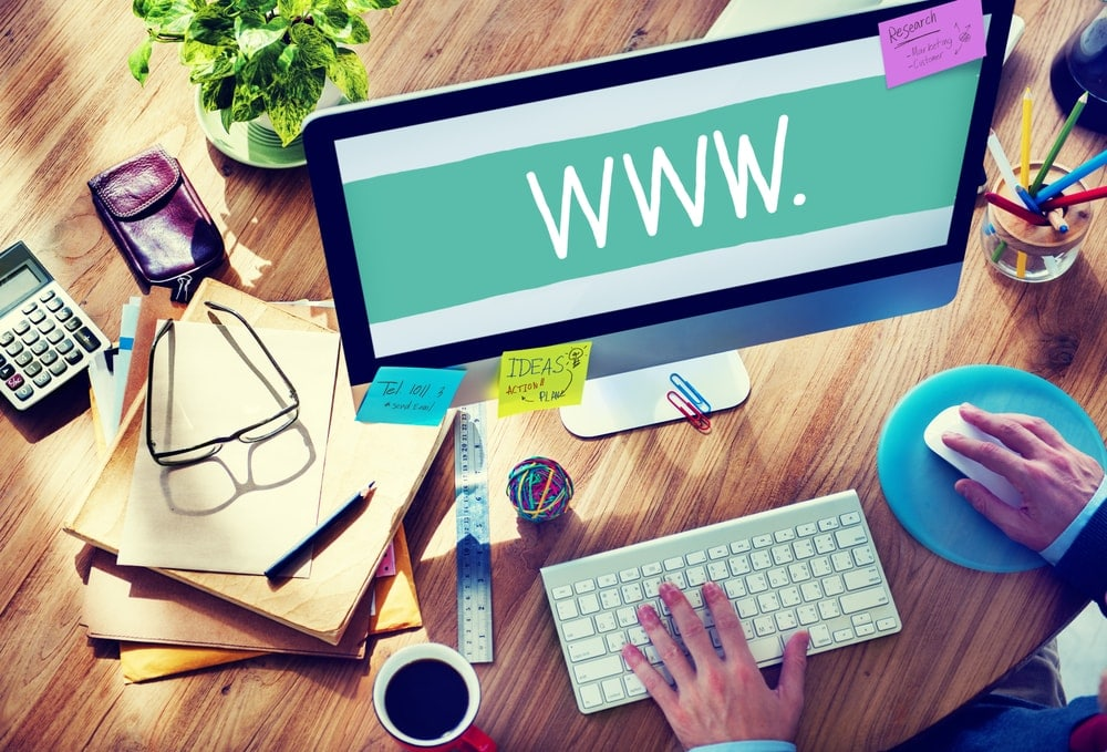 website desing concept