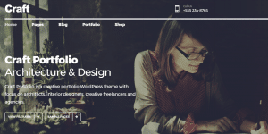 Best WordPress theme Craft
